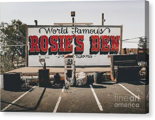 Rosies Den Cafe  Canvas Print