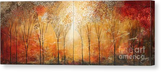 Rustic Woods Canvas Print