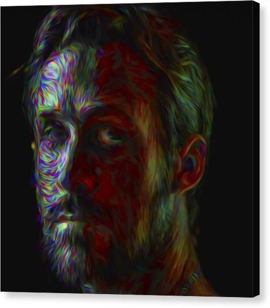 Paris Canvas Print - #ryangosling #gosling #male #actress by David Haskett