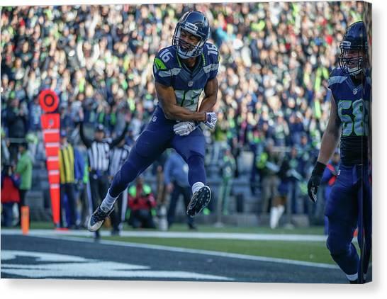 Seattle Seahawks Canvas Print - Seattle Seahawks by Super Lovely