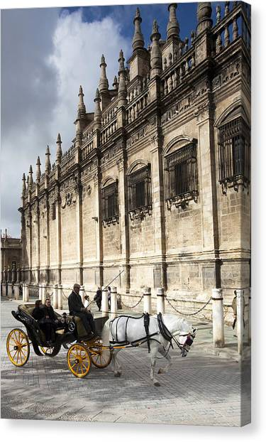 Sevilla Canvas Print by Andre Goncalves