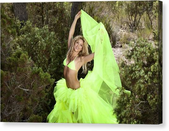 Shakira Canvas Print - Shakira by Mariel Mcmeeking