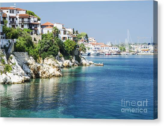 Skiathos Island, Greece Canvas Print