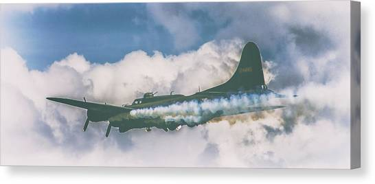 Paper Planes Canvas Print - Smoke On by Martin Newman