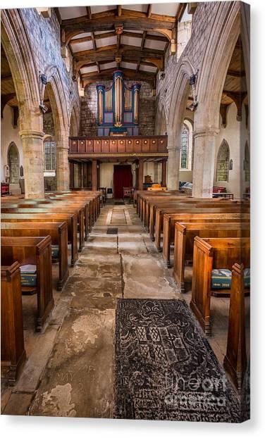 Beam Canvas Print - St. Marys Church by Adrian Evans