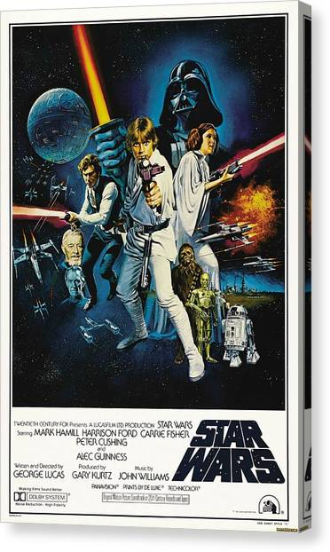 Chewbacca Canvas Print - Star Wars by Geek N Rock