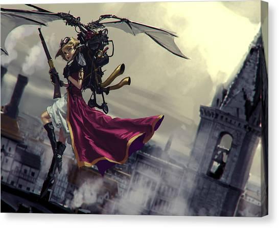 Steampunk Canvas Print - Steampunk by Maye Loeser