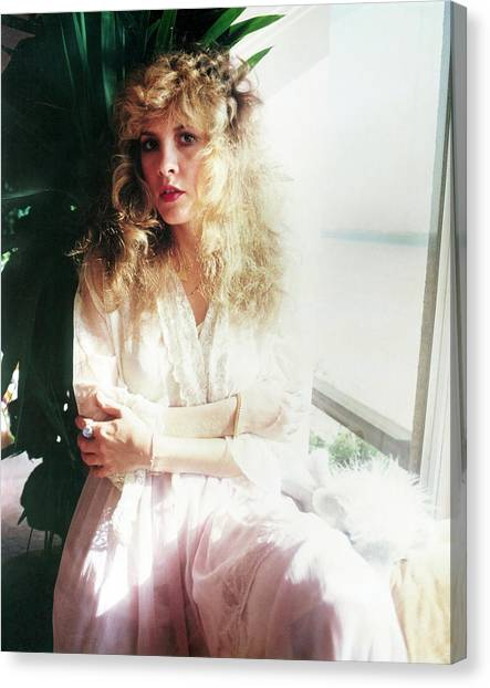 Stevie Nicks Canvas Print - Stevie Nicks 1981 No.3 by Chris Walter