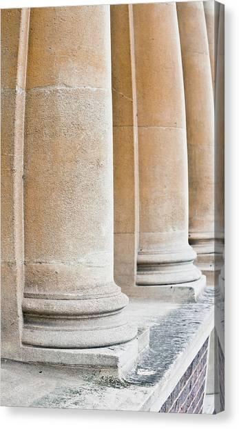 Academic Art Canvas Print - Stone Pillars by Tom Gowanlock