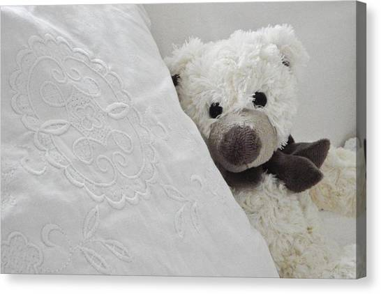Teddy Bears Canvas Print - Stuffed Animal by Jackie Russo