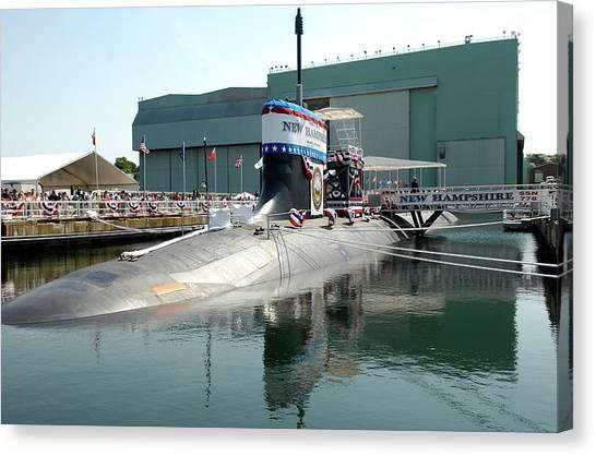 Submarine Canvas Print - Submarine by Super Lovely