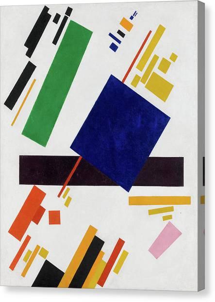 Suprematism Canvas Print - Suprematist Composition by Kazimir Malevich