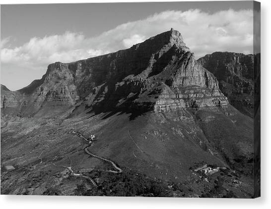 Table Mountain - Cape Town Canvas Print