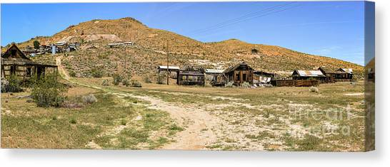 The Ghost Town Canvas Print