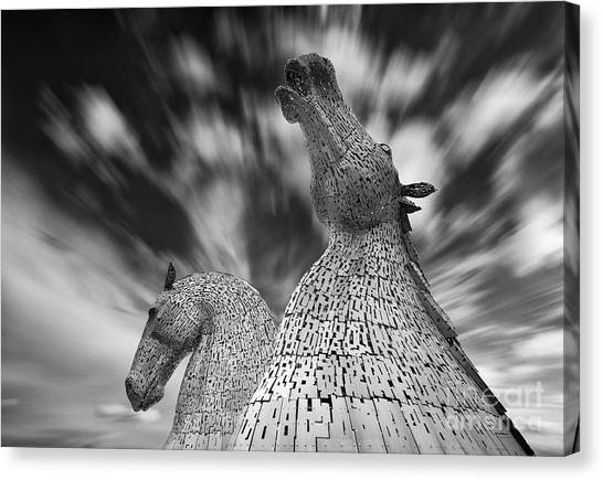 Black And White Prints Of The Kelpies