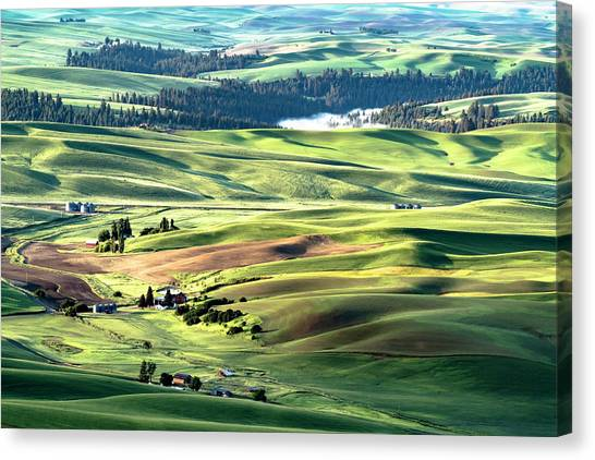 The Palouse Canvas Print