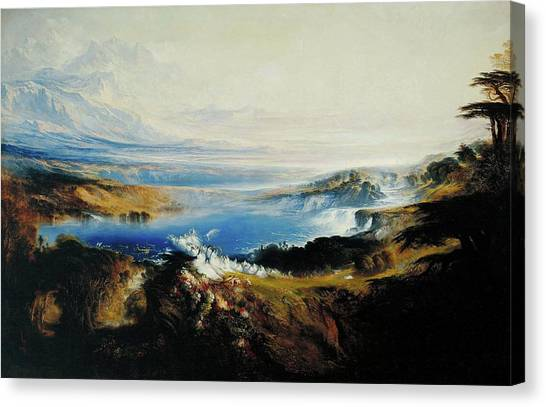 The Plains Of Heaven Canvas Print