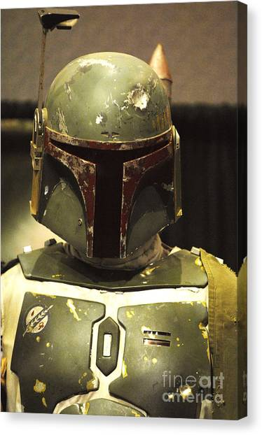 Boba Fett Canvas Print - The Real Boba Fett by Micah May