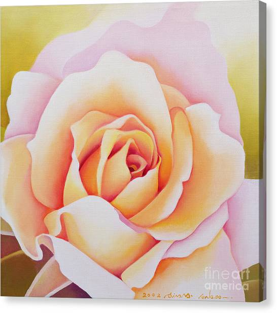 Red Roses Canvas Print - The Rose by Myung-Bo Sim