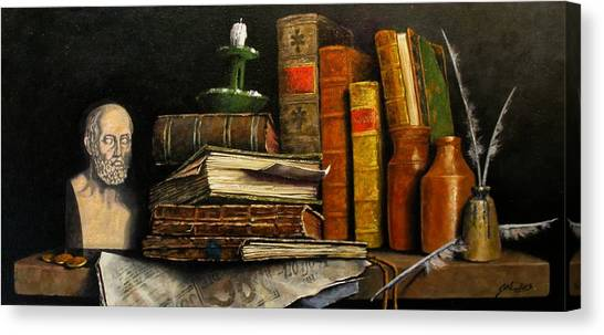 Canvas Print - Time And Old Friends by Jim Gola