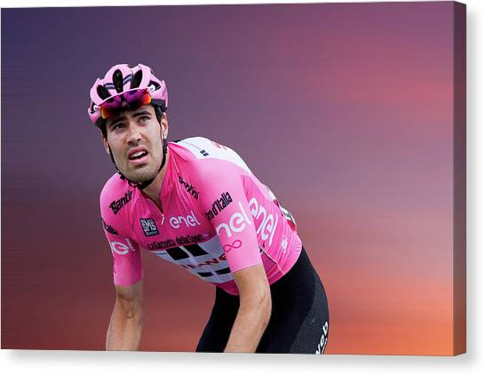 Canvas Print - Tom Dumoulin 3 by Smart Aviation