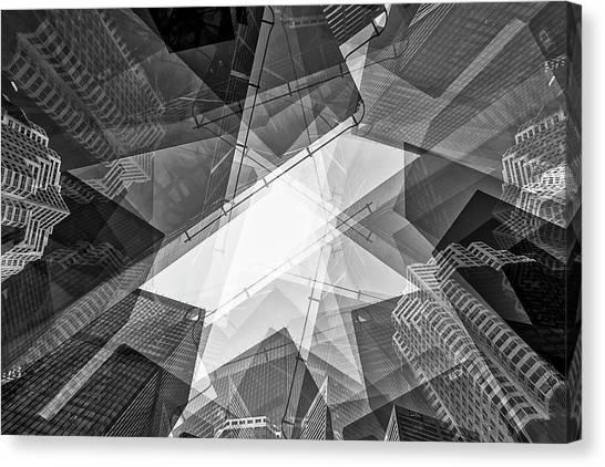 Toronto Financial District Canvas Print
