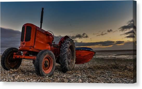 Tractors Canvas Print - Tractors  by Mark Mc neill