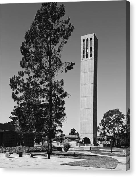 Big West Canvas Print - University Of California, Santa Barbara Campus by Mountain Dreams