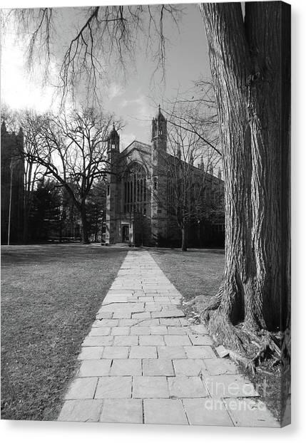 University Of Michigan Law Quad Canvas Print