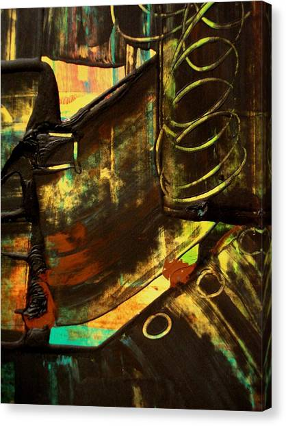 Untitled Canvas Print by Teo Santa