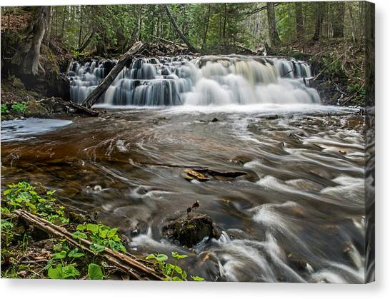 Upper Mosquito Falls Canvas Print