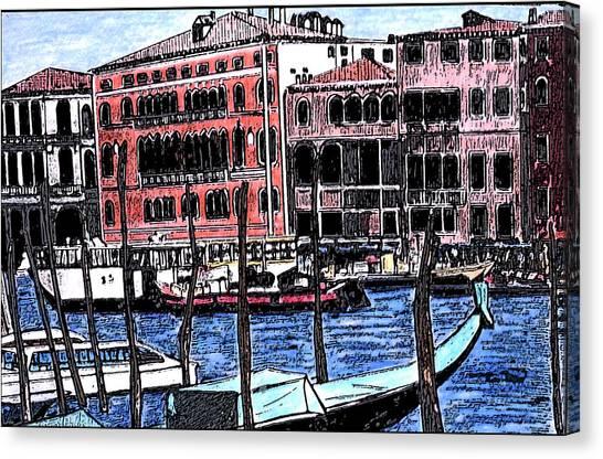 Venice Italy Canvas Print by Monica Engeler
