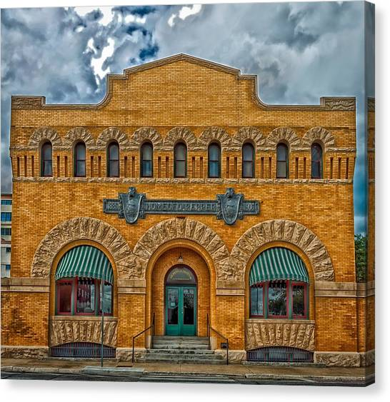 Dr. Pepper Canvas Print - Waco's Dr Pepper Museum by Mountain Dreams