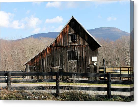 West Virginia Barn Canvas Print