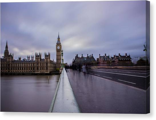Parliament Canvas Print - Westminster Bridge by Martin Newman
