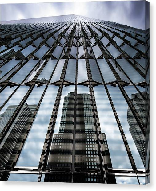 World Trade Center Nyc Canvas Print by Robert Ullmann
