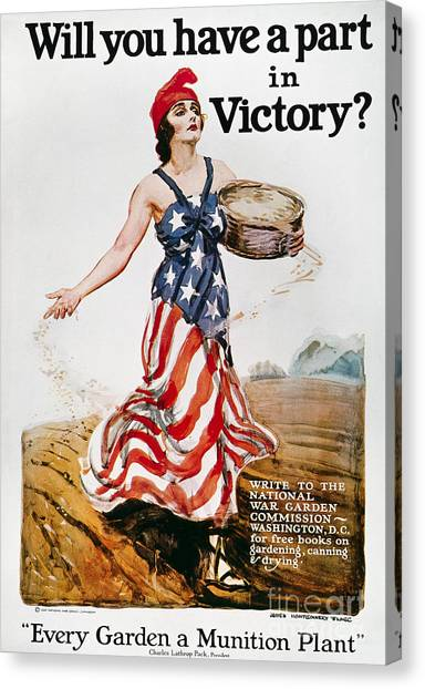 Artcom Canvas Print - World War I: U.s. Poster by Granger