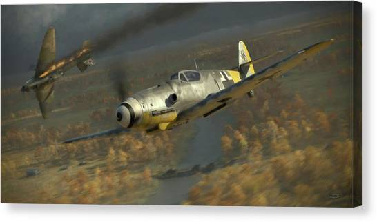 Aviation Canvas Print - 200 - Painterly by Robert Perry
