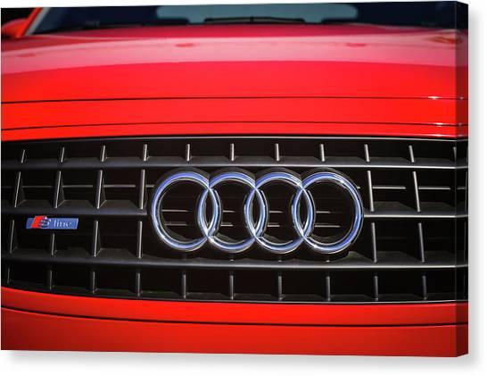 Audi Canvas Print - 2002 Audi Emblem -0083c2 by Jill Reger