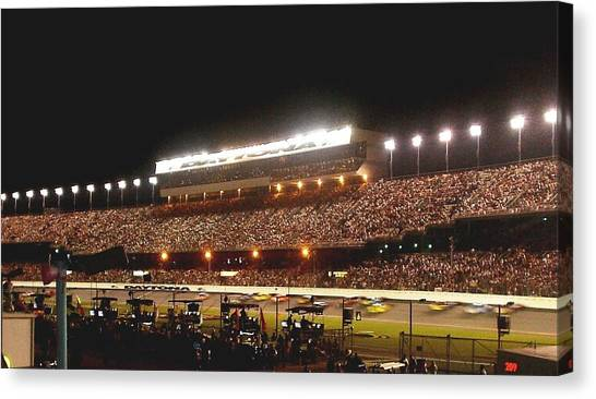 2009 Coke Zero 400 At Daytona International Speedway Canvas Print