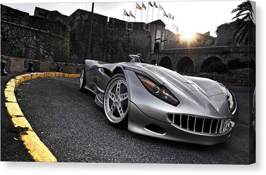 Sports Cars Canvas Print - 2009 Veritas Rs IIi Sports Car by Maye Loeser