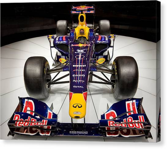 2010 Red Bull F1 Canvas Print