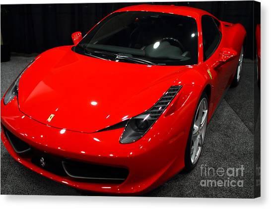 2011 Ferrari 458 Italia . 7d9397 Canvas Print