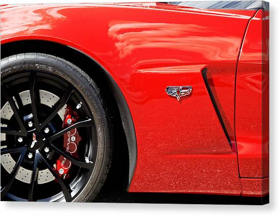 2013 Corvette Canvas Print