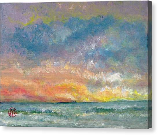 2014 Seascape Canvas Print