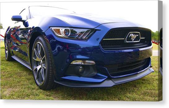 2015 Ford Gt Mustang Canvas Print