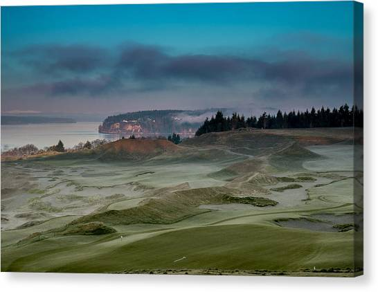 2015 Us Open - Chambers Bay Vi Canvas Print