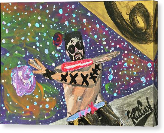 2021 The Eyes Odyssey Canvas Print