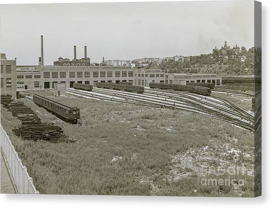 207th Street Railyards Canvas Print