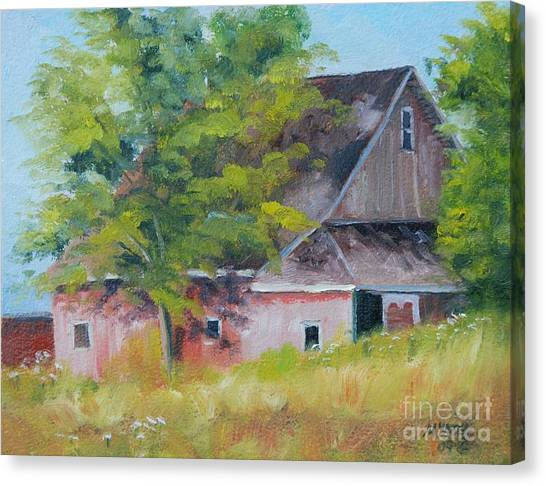 20th Road And 331 Canvas Print by Mike Yazel